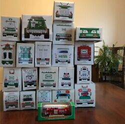 Hess Trucks 1990-2010, Comes With Original Boxing.