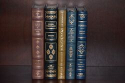 5 Franklin Library Leather Bound Andndash Great French Writers Andndash Pascal Montaigne