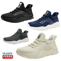 Men#x27;s Fashion Sneakers Lightweight Walking Shoes Comfort Athletic Shoes $14.99