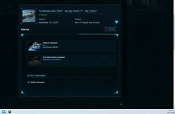 Star Citizen - Capital Sip Account - Idris-p And Other Stuff