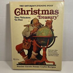 Saturday Evening Post Christmas Treasury Two Volumes In One By Norman Rockwell