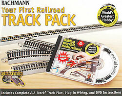 Bachmann Ho Nickel Silver Your First Railroad Track Pack 44596