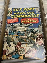 Sgt. Fury And His Howling Commandos 10 High Grade 8.0-9.0 On To Okinawa Wwii
