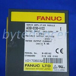 1pc New Fanuc Servo Amplifiers A06b-6096-h103 One Year Warranty Fast Delivery