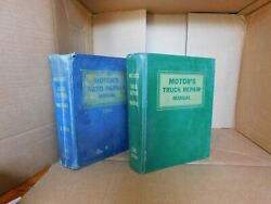 Motor's 1966 Auto And Truck Repair Manuals, Auto 29th Edition 1959-66 Models.