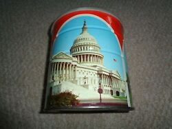 Hills Brothers Coffee Can Washington Dc White House Capitol Lincoln Memorial 70