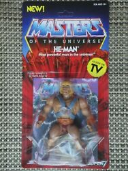 Masters Of The Universe He-man Action Figure Moc Super 7 Vintage Series