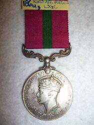 King's African Rifles Kar Long Service And Good Conduct Medal, G.vi.r. Issue