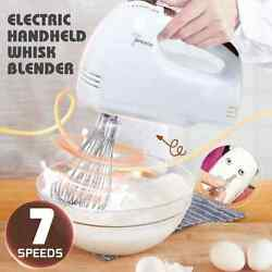 7 Speed 100w 220v Electric Hand Mixer Whisk