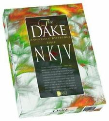 Holy Bible New King James Version Dake Annotated Reference, Burgundy Leathersof