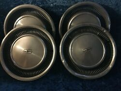 4 Four 16 Vintage Oldsmobile Hubcaps - Fast Free Shipping