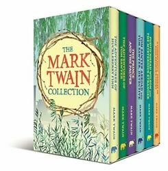 The Mark Twain Collection Deluxe 6 Volume Slip-case Edition ... By Twain Mark
