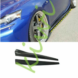 2pcs Carbon Fiber Side Skirts For Lexus Is200t Is250 Is300 Is350 2013-2017