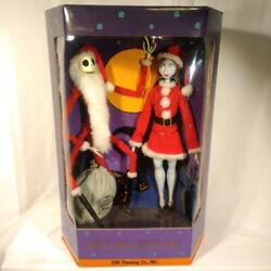 Santa Jack And Santa Sally Nightmare Before Christmas Collection Doll Limited Ed.