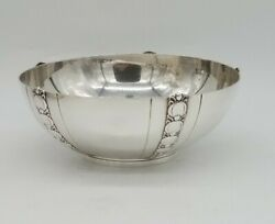 And Co. Sterling Silver Tomato Exposition Pattern Bowl