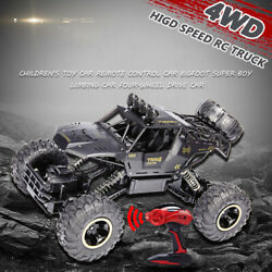 4wd Rc Monster Truck Off-road Vehicle 2.4g Remote Control Crawler Car Christmas
