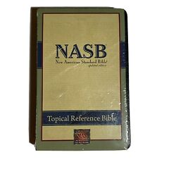 Nasb Topical Reference Bible, Bl, Black By Lockman Foundation Factory Sealed New