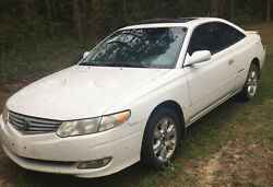 2002 Toyota Camry Solara Le - Entire Car For Parts. Buyer Must Pick Up Or Ship