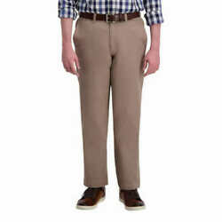 Haggar Menand039s Ultimate Flex Waistband Travel Pant
