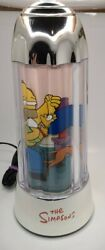 The Simpsons Around The House Themed 14 Tall Motion Lamp Working Homer Bart