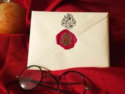 Gryffindor House Acceptance Letter From Hogwarts - Handwritten And Personalized