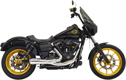 Bassani Ripper Chrome 2-1 Full Exhaust 91-17 Harley Dyna Fxd Fxdl Fxdb Fxdwg