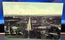 Vintage Postcard Pennsylvania Ave. And City West From Capitol 5083