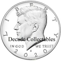 2020 S Kennedy Half Dollar Proof First Strike Air Tight Capsule In Stock