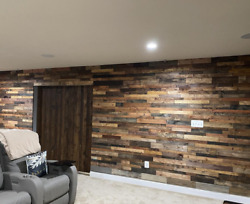 Sold In Sq. Footage Reclaimed Wood Accent Wallboards From Lumber