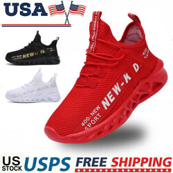 Kids Sneakers Boys Girls Running Shoes Lightweight Breathable Boys Tennis size $18.49