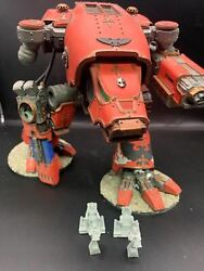 Warhammer 30k 40k Forgeworld Fw Warhound Titan With Inferno Cannon And Plasma Bl