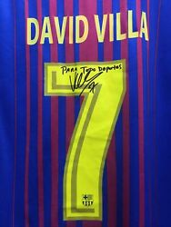 Fc Barcelona Home 17-18 Red Navy Signed Soccer Classic Jersey Size S Mens Only