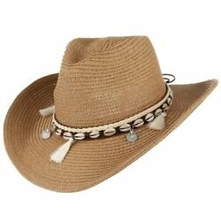12pcs Cowgirl Summer Hat Mixed Hats For Women Men Western