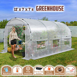 Half Transparent Larger Walk-in Plant Hot Greenhouse Garden Outdoor Abs Clamps
