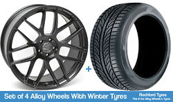 Ac Winter Alloy Wheels And Snow Tyres 20 For Ford Mustang [mk6] 15-20