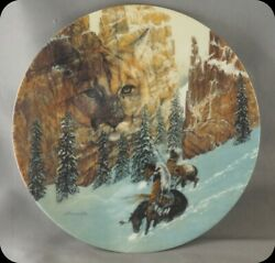 Julie Kramer Cole Canyon Of The Cat Collector Plate The Faces Of Nature
