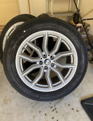 New Bmw Oem 19 In Wheels With Tires, Tpms And Center Caps