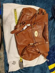 Mulberry Bayswater Menand039s Brown Travel Satchel