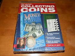 Littleton Get Started Collecting Coins Vhs Video 50 State Folder Boxed New