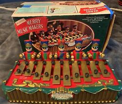 Mr. Christmas Merry Music Makers Mechanical Soldiers. 1996