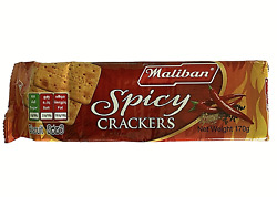 Maliban Biscuits Spicy Crackers 170g / 5.99oz