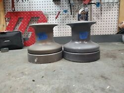 Pair Barient 28 Two Speed Winches