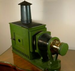 James W. Queen And Co. Magic Lantern W/carbon Arc Lamp. C.1860's-1880's