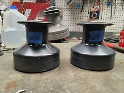 Pair Barient 24 Two Speed Winches
