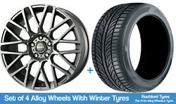 Momo Winter Alloy Wheels And Snow Tyres 19 For Audi A4 [b5] 94-01