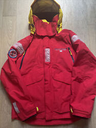 Polo Polo Sport 12m Yacht Challenge Red Sailing Jacket Coat Size M