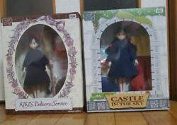 Licca Rize Figure Set Of 2 Kikis Delivery Service And Sheeta Castlse In The Sky