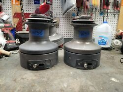 Pair Barient 32 Three Speed Self Tailing Winches