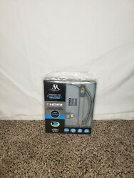 Acoustic Research 7 Foot Hdmi Cord Flat Panel Installation Brand New In Package