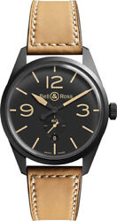 Bell And Ross Vintage Original Automatic 41mm Menand039s Watch Brv123-heritage